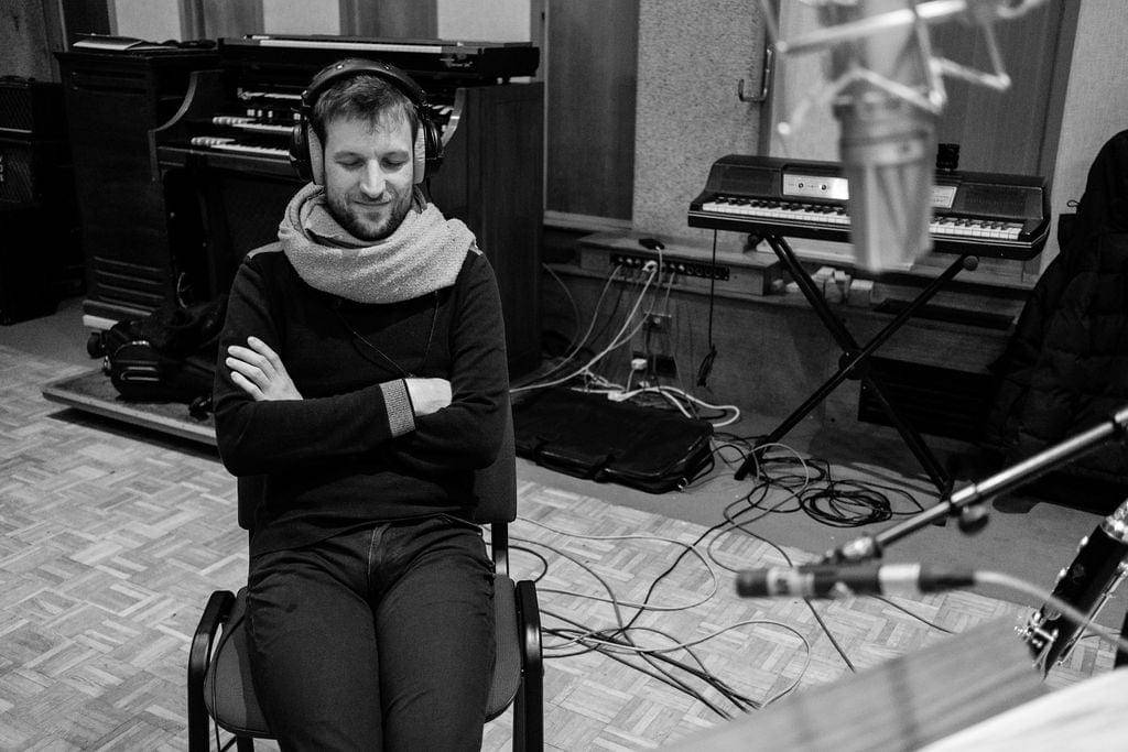 Tom Bourgeois has just finished recording his new project